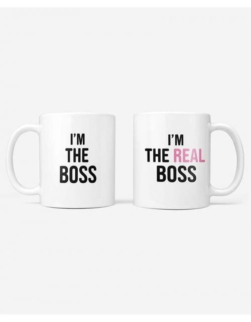 Mug - The Boss - The Real Boss