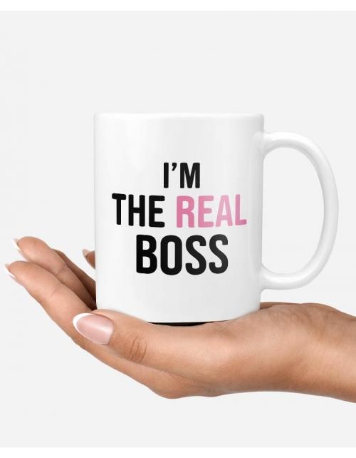 Mug - The Real Boss