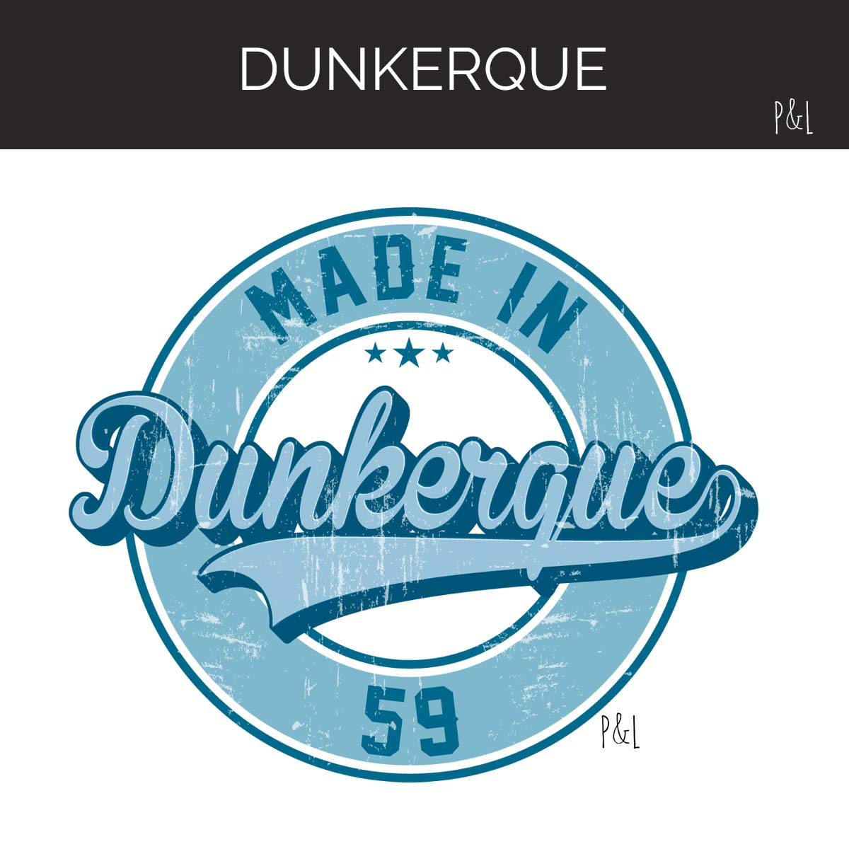 Collection Dunkerque by Pilou et Lilou