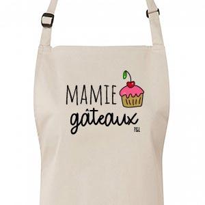 Tablier Mamie Gâteau by Pilou & Lilou