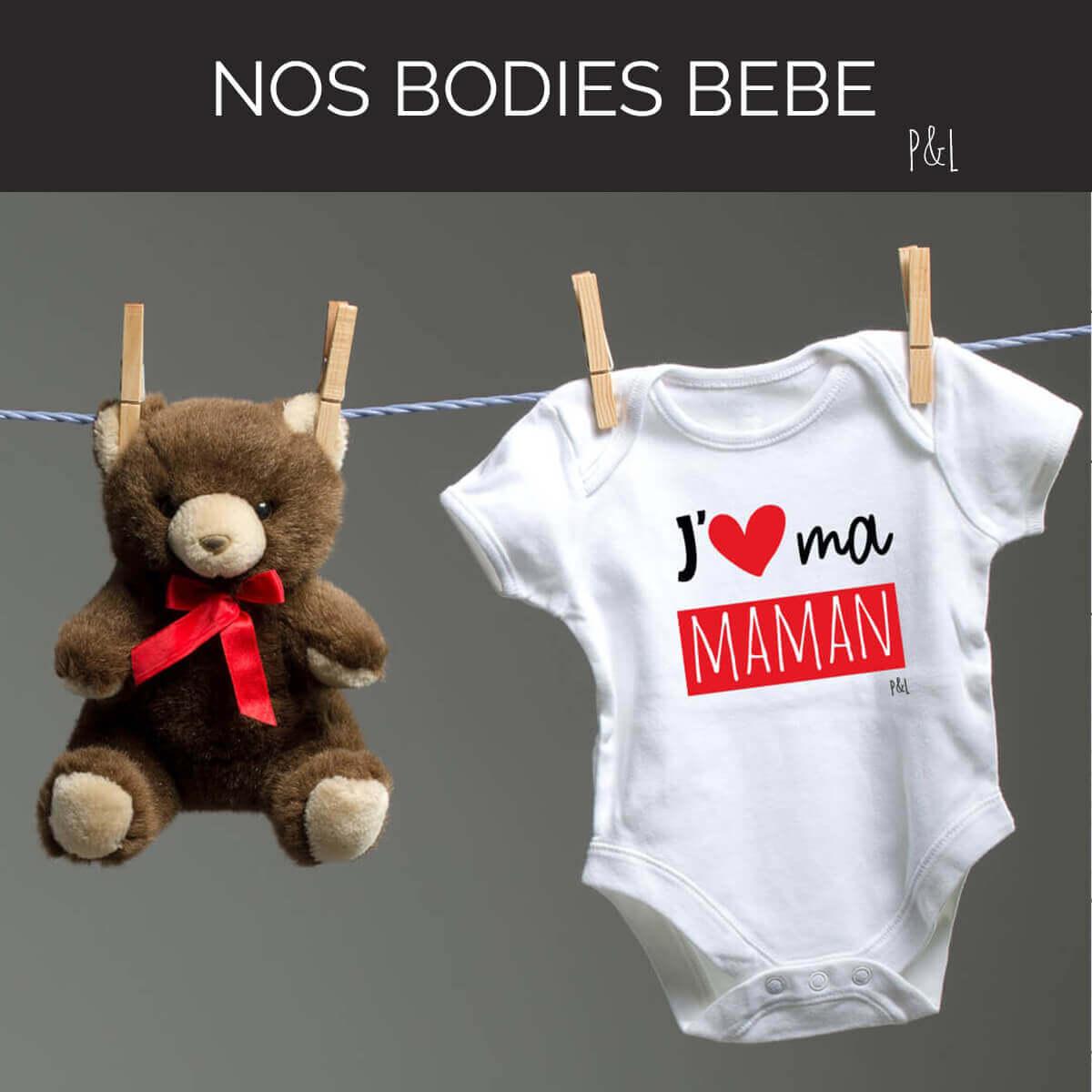 Nos bodies bébé