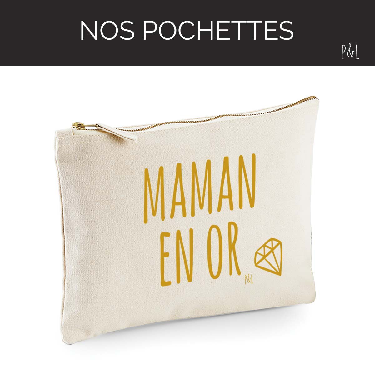 Pochette, Trousse by Pilou et Lilou